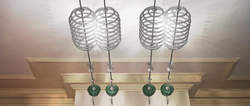 Conception 3D pour un éclairage d'un salon à Versailles
